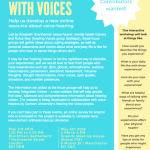 Everyday Life with Voices flyer