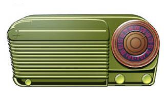 Old radio, courtesy hearingvoices.com