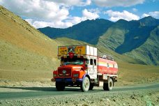 Mt Kailash: Truck with sign- Goods Carrier