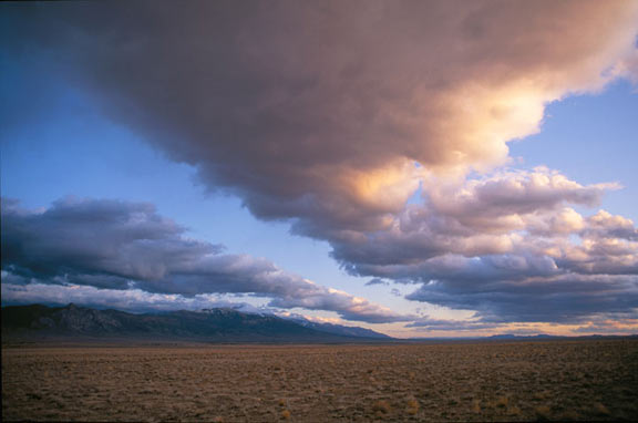 Great Basin Desert in Nevada