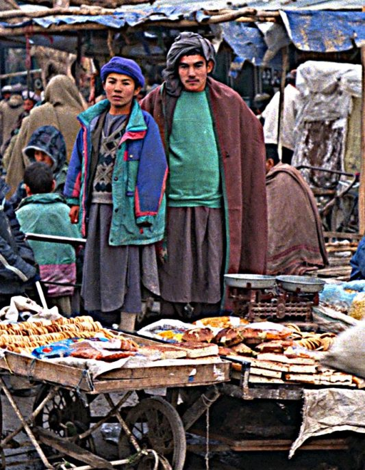Mazar outdoor market