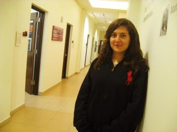 Malak Assad, student, marketing major (by Kim Fox)