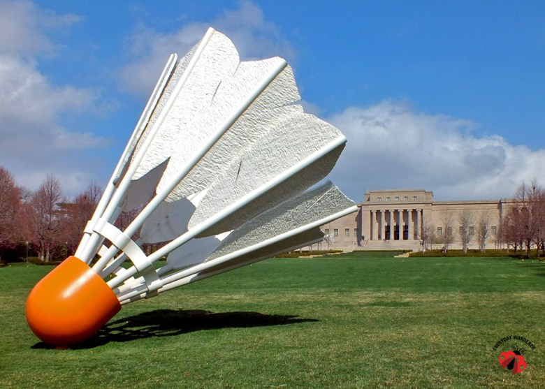 Kansas City - Nelson Atkins Shuttlecock - Everyday Wanderer