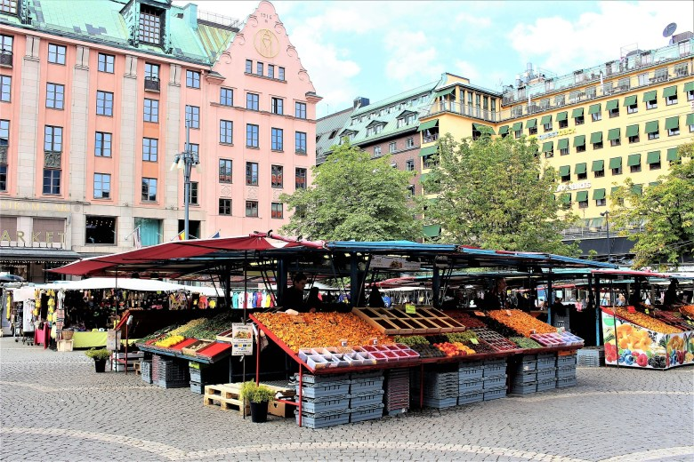Market at Hötorget. On Sunday mornings this is also the venue of a flea market.jpg
