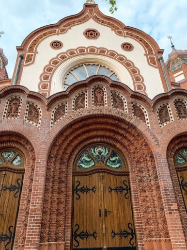 Synagogue Close Up, Subotica