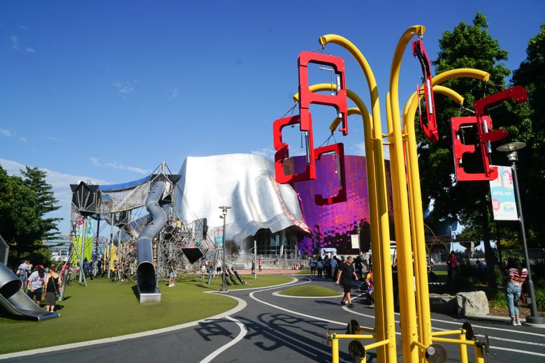 Playground at Seattle Center