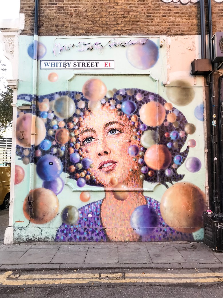 Eye – Catching mural on Whitby Street