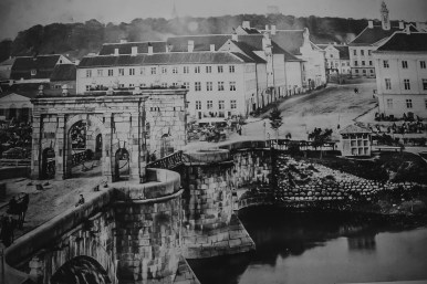 Stone Bridge before WWII, Tartu