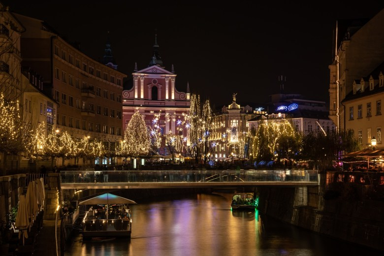 Christmas in Ljubljana