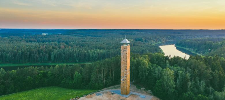Birstonas Observation Tower   © Lithuania.Travel