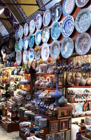 Turkish Iznik Ceramic plates