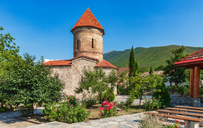 Caucasian Albanian Church is the best-known church located in the small mountainous village of Kish