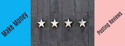 Make Money Online Posting Reviews