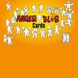 Anger Blob Cards