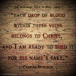 14. Each Drop -Spurgeon Photo Quote