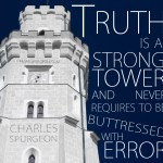 3. Strong Tower -Spurgeon Photo Quote