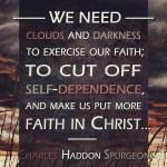 31. Clouds Darkness - Spurgeon Photo Quote IG