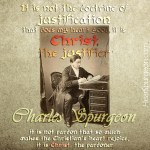 54. Christ Justification - Charles Spurgeon Old Rare Picture Quotes