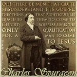 60. Gospel Misunderstand Sin - Young Charles Haddon Spurgeon Quote Picture