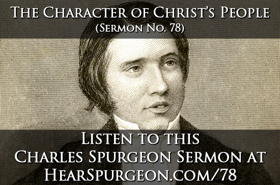 78 character christ's people spurgeon audio sermon mp3