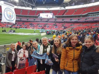 Visit to FA Cup at Wembley