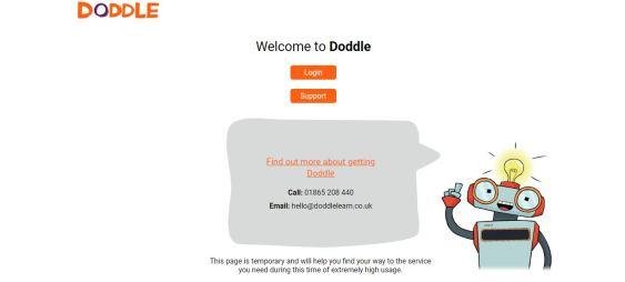 Doddle web site