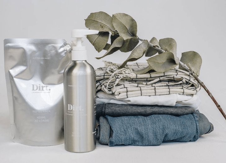 Magic Dirt: Sustainable Laundry Liquid