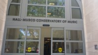 Hall-Musco Conservatory of Music.