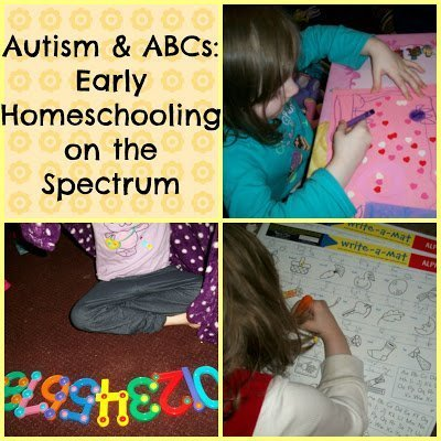 Autism & ABCs: Early homeschooling on the spectrum