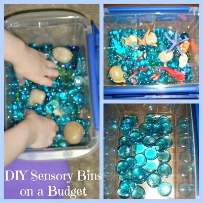 DIY Ocean Sensory Bin