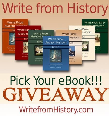 Write from History Freebies plus Giveaway
