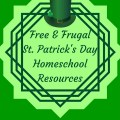 Free & frugal St. Patrick's Day Homeschool resources. Instant downloads & printables to simplify your homeschooling. heartandsoulhomeschooling.com