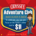 Get Odyssey Adventure Club for just a buck in May!