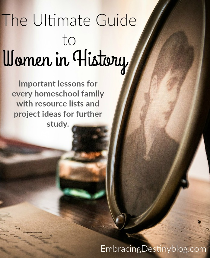 The Ultimate Guide to Women in History: resources and ideas for your homeschool! Inventors, writers, pioneers, and world changers. heartandsoulhomeschooling.com