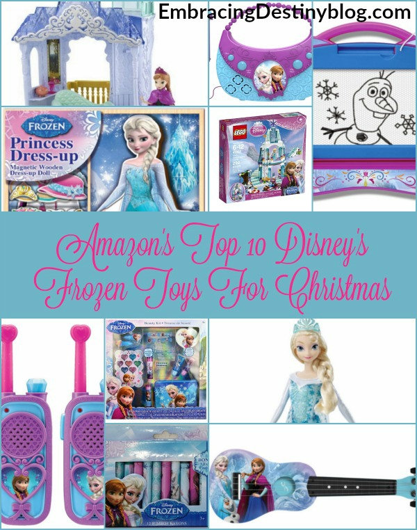 Top 10 Disney's Frozen Toys For Christmas