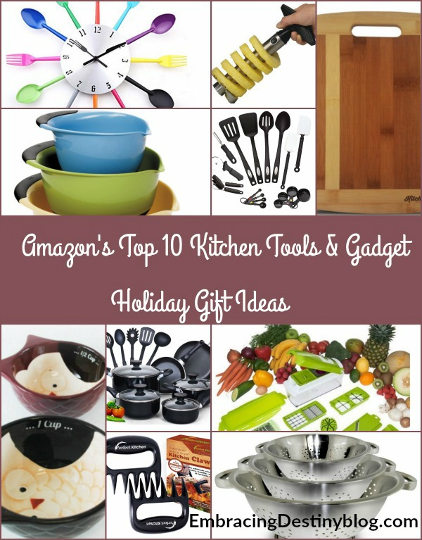 Love to cook? Know someone who does? Need a quick gift before Christmas? Check out Christmas Gift Guide for Amazon's Top 10 Kitchen Tools & Gadgets. heartandsoulhomeschooling.com