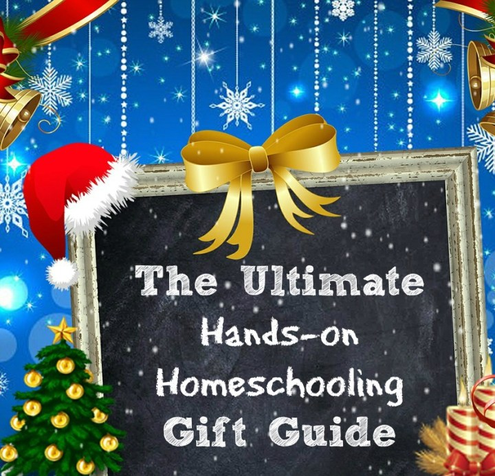 The Ultimate Hands-on Homeschooling Christmas gift guide. Ideas for homeschoolers who enjoy hands-on projects and delight-directed learning. heartandsoulhomeschooling.com