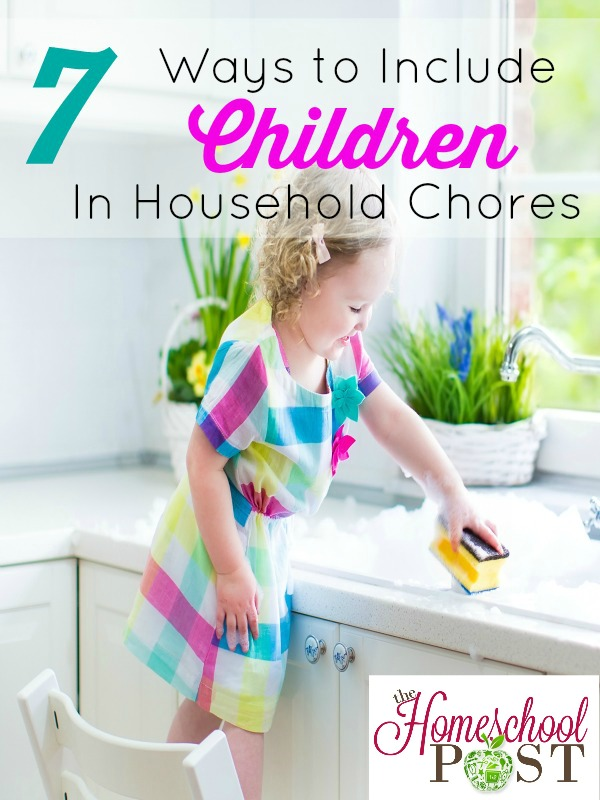 7 ways to include children in household chores ~ hsbapost.com