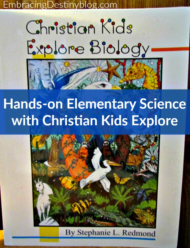 Hands-on elementary science with Christian Kids Explore Biology ~ look at all the fun science we've done! heartandsoulhomeschooling.com