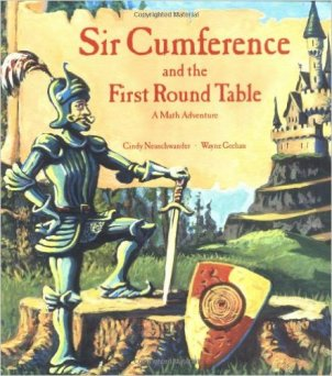 Sir Cumference living math book Charlotte Mason homeschooling