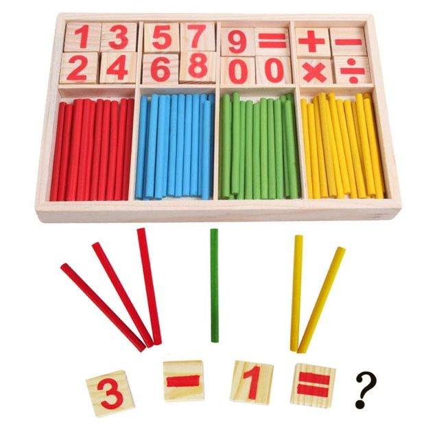 Charlotte Mason homeschooling wooden rods