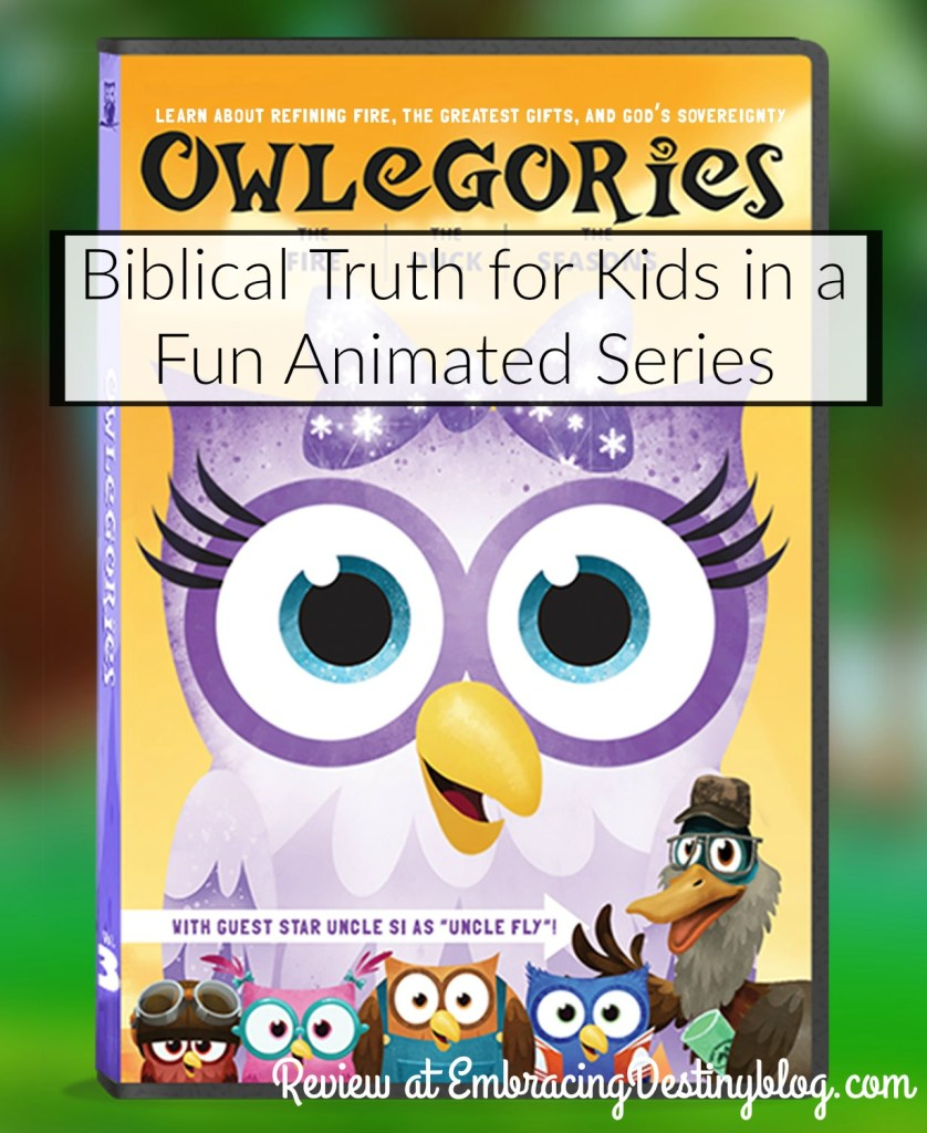 Teaching Kids about Biblical Truth with Owlegories | Heart and Soul