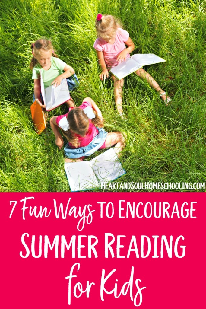 How to encourage summer reading for kids | #homeschooling during the summer | fun summer reading in your #homeschool