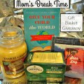 Need the makings for a relaxing afternoon of peace and quiet for yourself? Enter for a chance to win this Mom's Break Time gift basket giveaway! heartandsoulhomeschooling.com