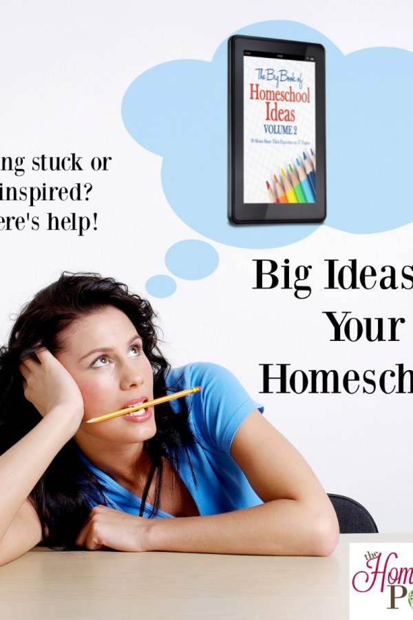 Big Ideas for Your Homeschool