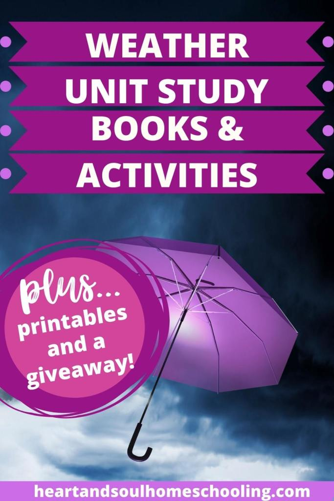Study resources for weather units