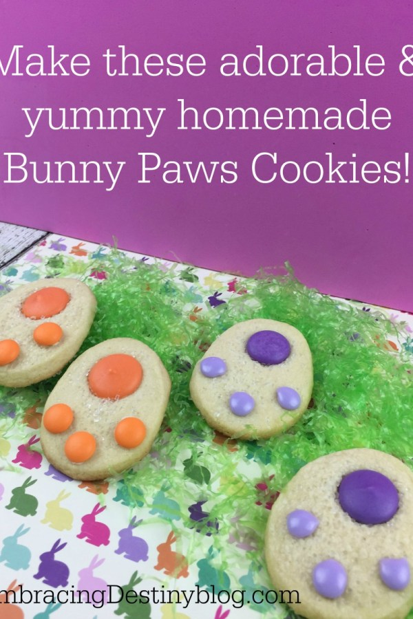 Homemade Bunny Paws Cookies