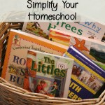 How and Why to Use a Morning Basket to Simplify Your Homeschool