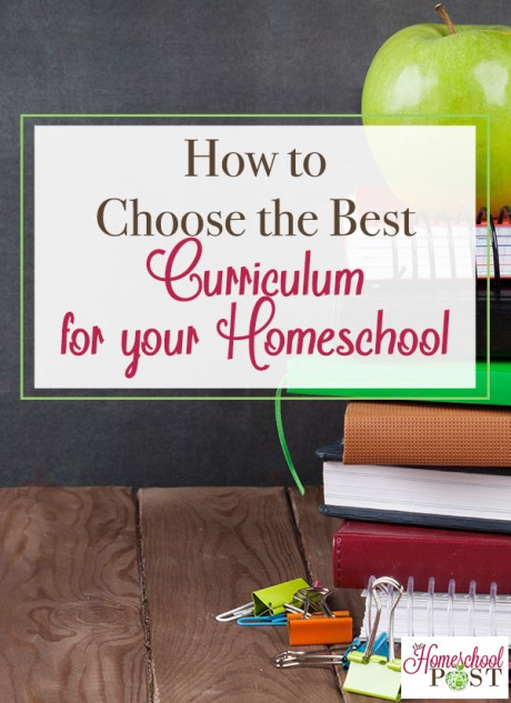 How to Choose the Best Curriculum
