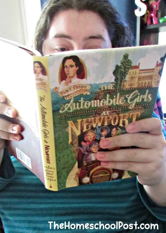 Aunt Claire presents historical fiction